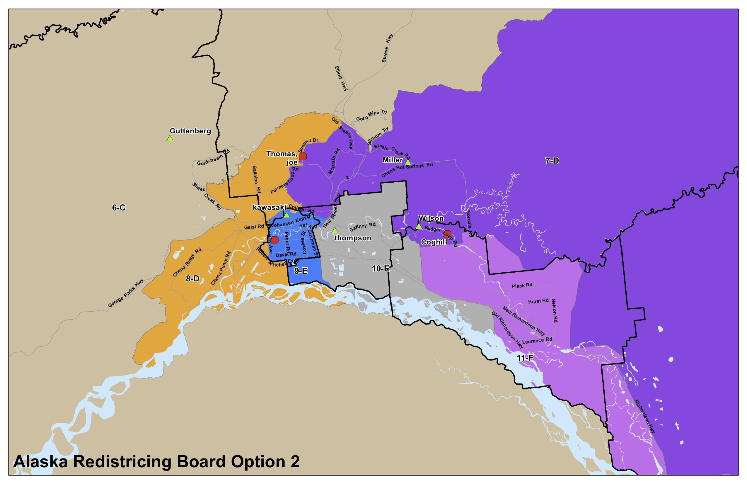 Alaskans For Fair Redistricting  Advocating Basic